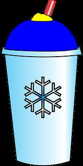Slurpee, Icee, Cup, Drink, Straw, Cold