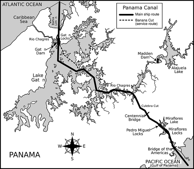 Image Result For Map De Panama
