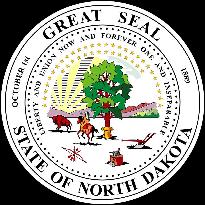 Seal North Dakota Symbol Free Vector Graphic On Pixabay