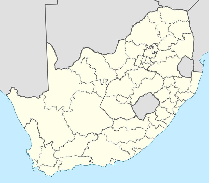 南アフリカ 地図 地区 · Pixabay...