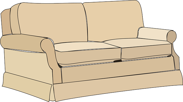 Free vector graphic sofa couch furniture home room for Sofa clipart