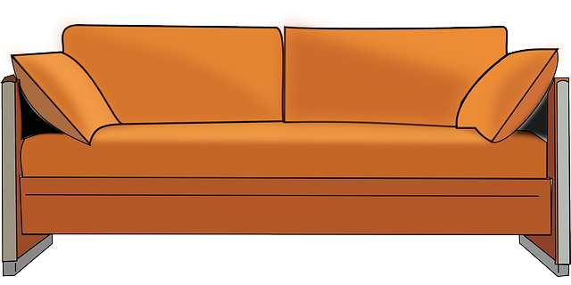 Free Vector Graphic Sofa Couch Seat Furniture Home