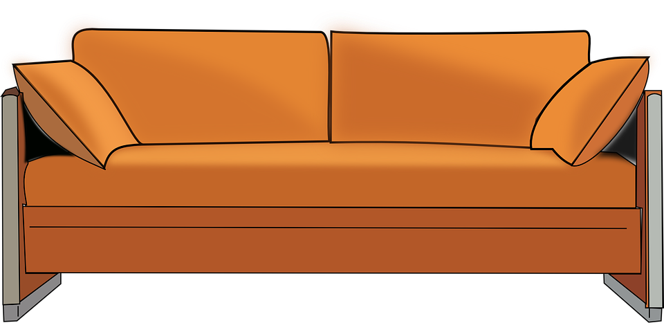 Free Vector Graphic Sofa Couch Seat Furniture Home Free Image On Pixabay 42817