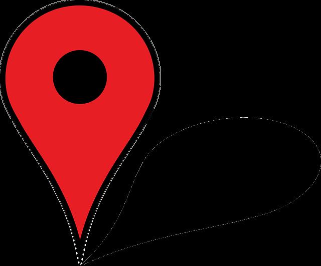 Icono Ubicacion Google Maps Png 3 Png Image: Mapa Pasador Illustrator · Gráficos Vectoriales Gratis