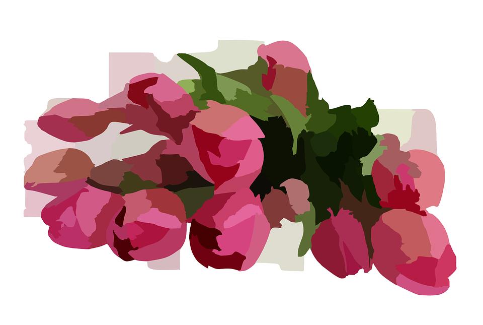 Mazzo Di Fiori Vettoriale.Mazzo Di Fiori Rosa Floreali Grafica Vettoriale Gratuita Su Pixabay