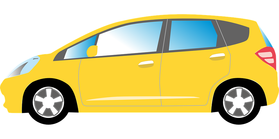 Car Yellow Auto Free Vector Graphic On Pixabay