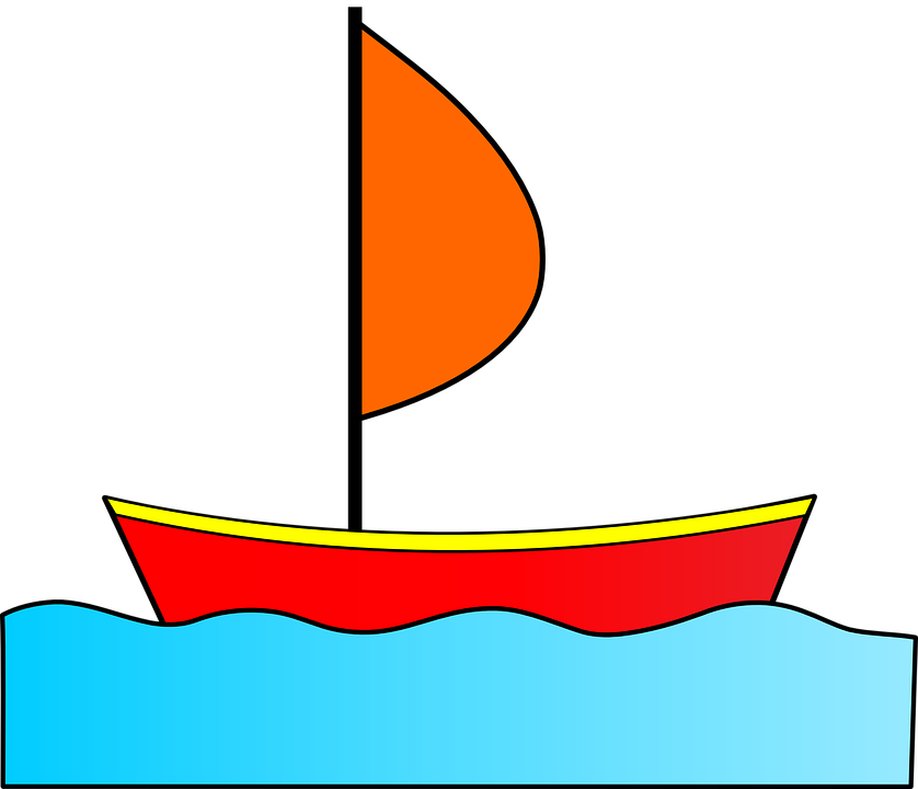 water sailing boat free vector graphic on pixabay rh pixabay com