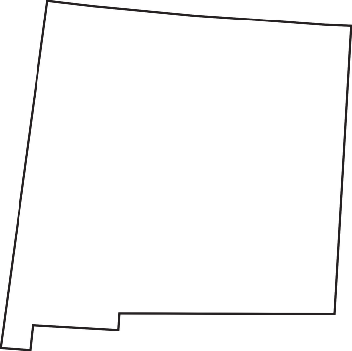 Free New Mexico Map.New Mexico State Free Vector Graphic On Pixabay