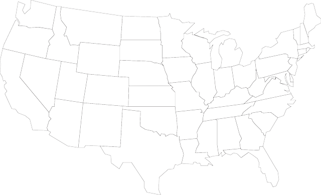 Map Usa United · Free Vector Graphic On Pixabay