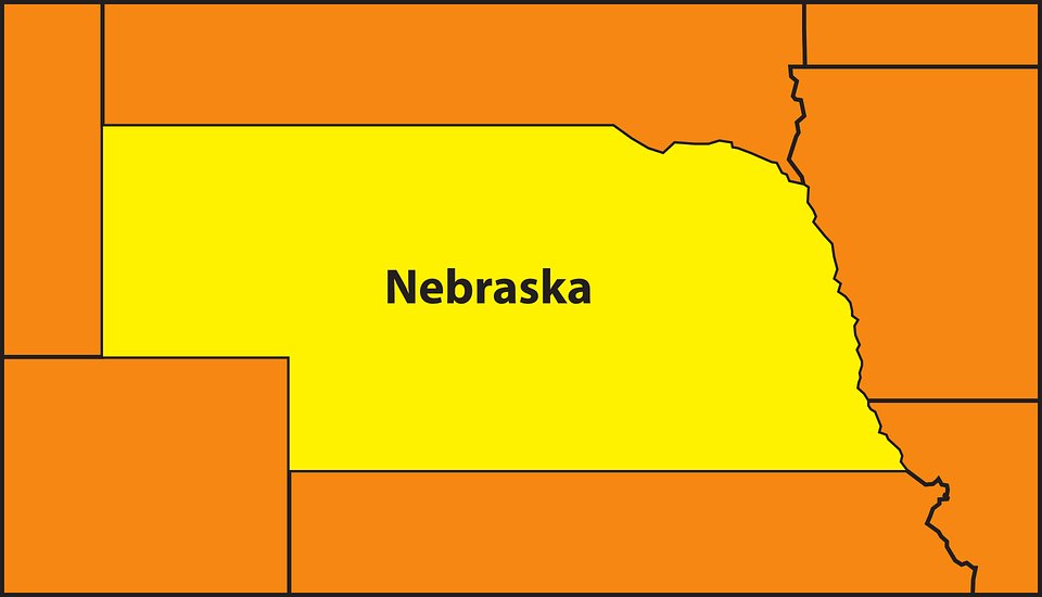 Free Nebraska Map.Map State Nebraska Free Vector Graphic On Pixabay