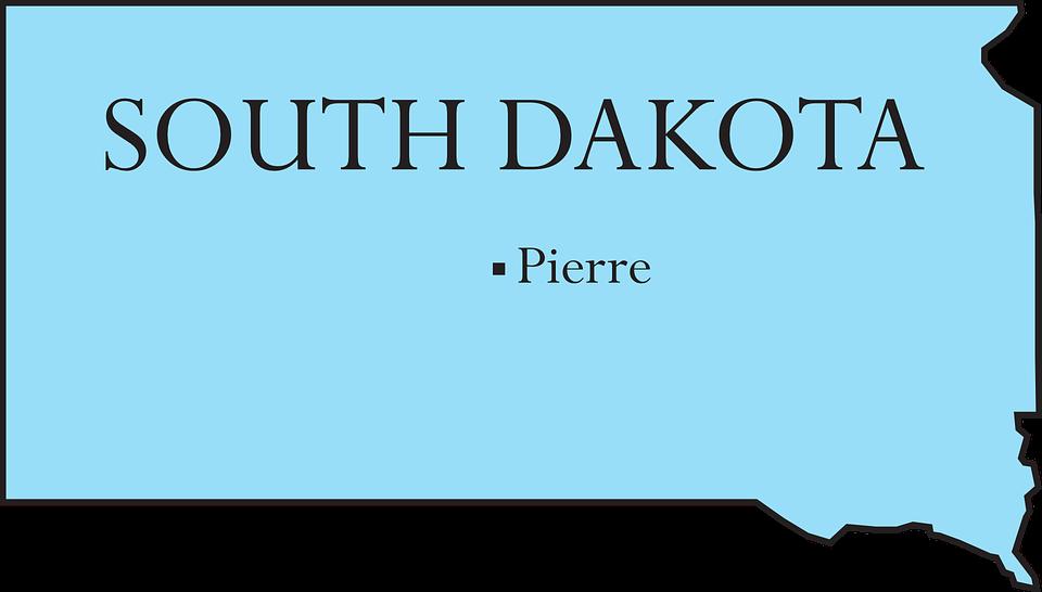 sør dakota kart Kart Tilstand Sør · Gratis vektorgrafikk på Pixabay sør dakota kart