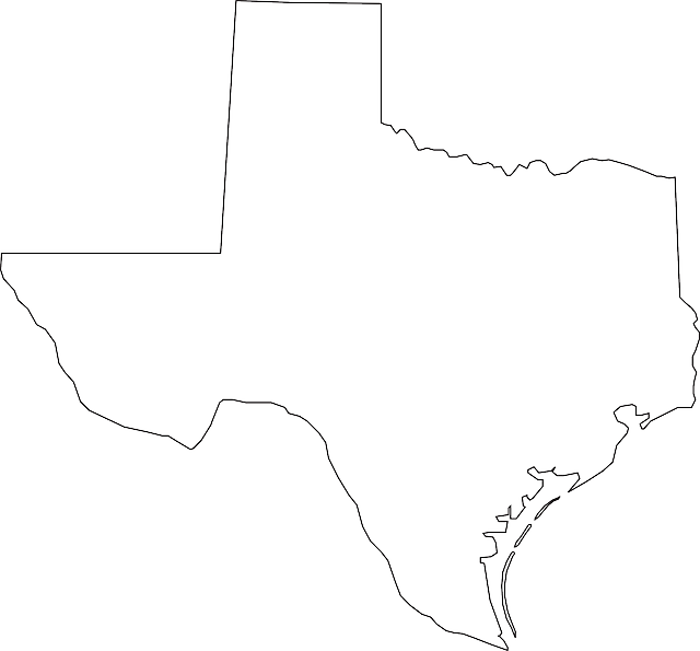 Free Vector Graphic Texas Map Geography State Free Image On - Texas map outline
