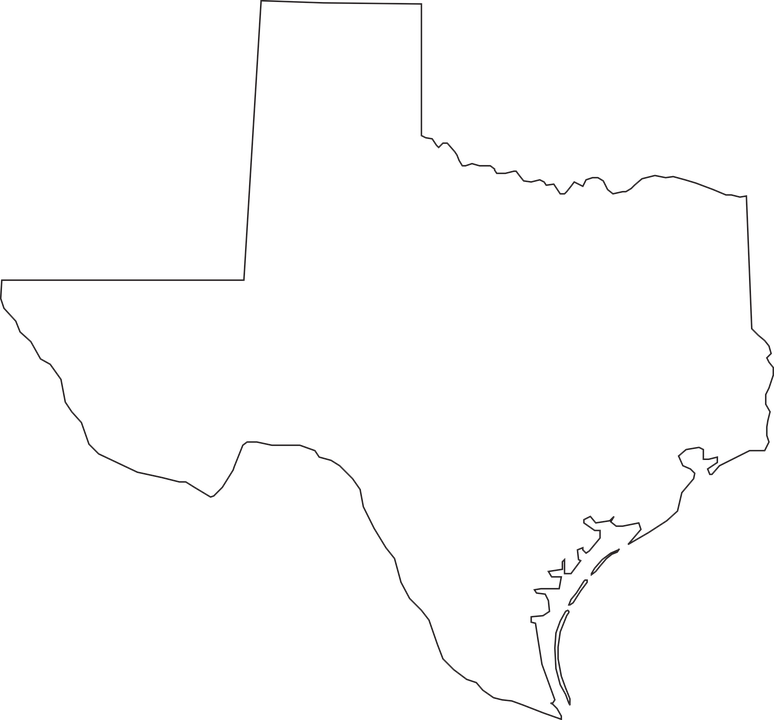 Free Vector Graphic Texas Map Geography State Free Image On - Us map texas vector