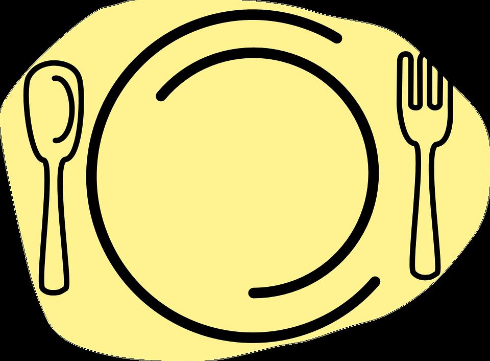 Makanan Makan Piring Gambar Vektor Gratis Di Pixabay