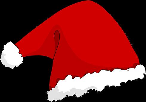 Santa'S Hat, Santa Claus, Weihnachten