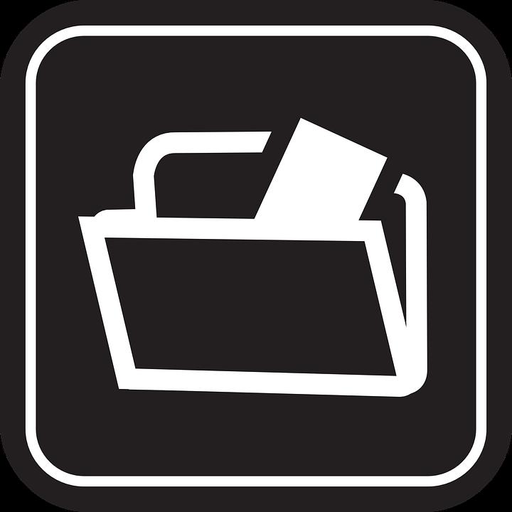 free clipart document icon - photo #47