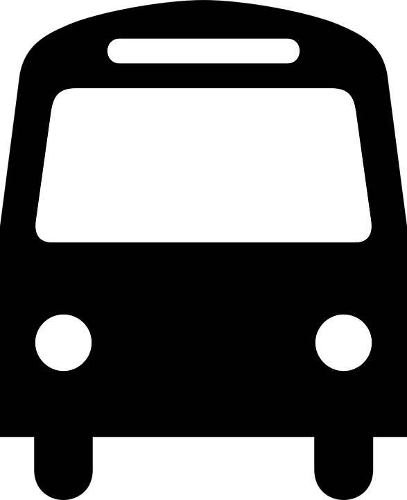 Bus Silhouette Transportation · Free vector graphic on Pixabay