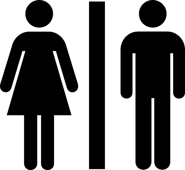 Free Vector Graphic Female Male Public Bathroom Free
