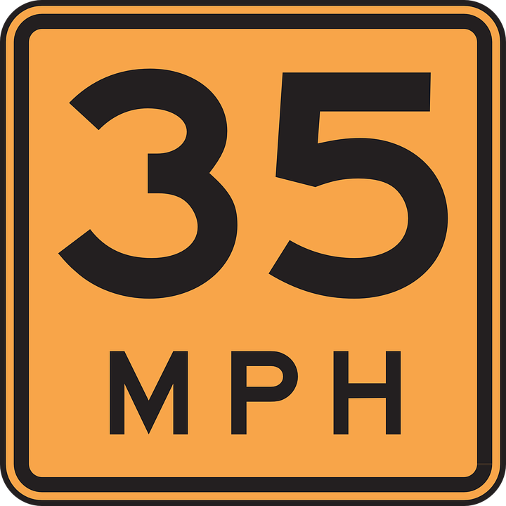 Free vector graphic: Road, Driving, Speed, 35, Miles - Free Image ...