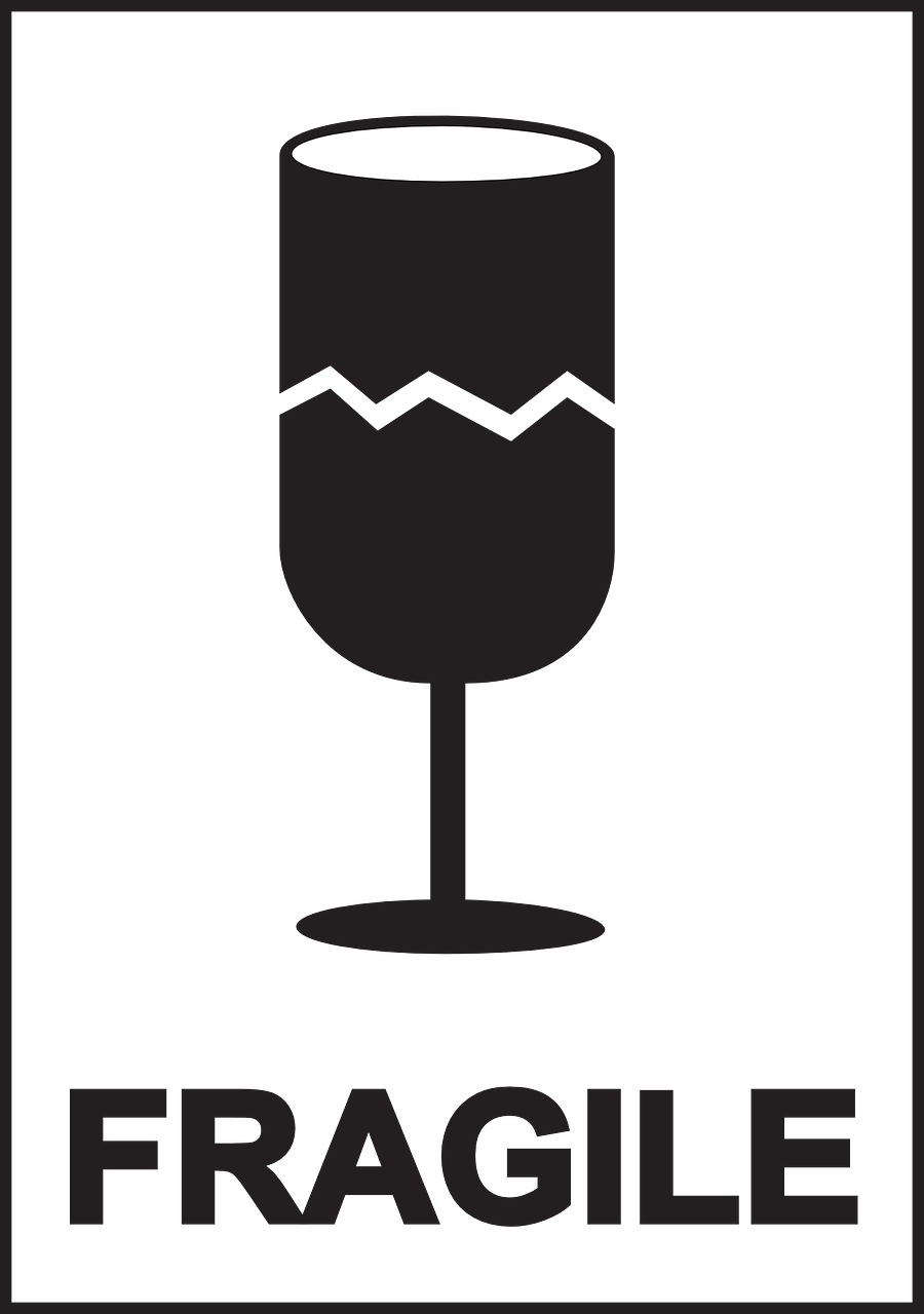 Знак картинка хрупкий груз