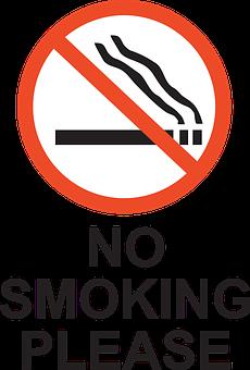 Smoking Prohibited Forbidden No Re