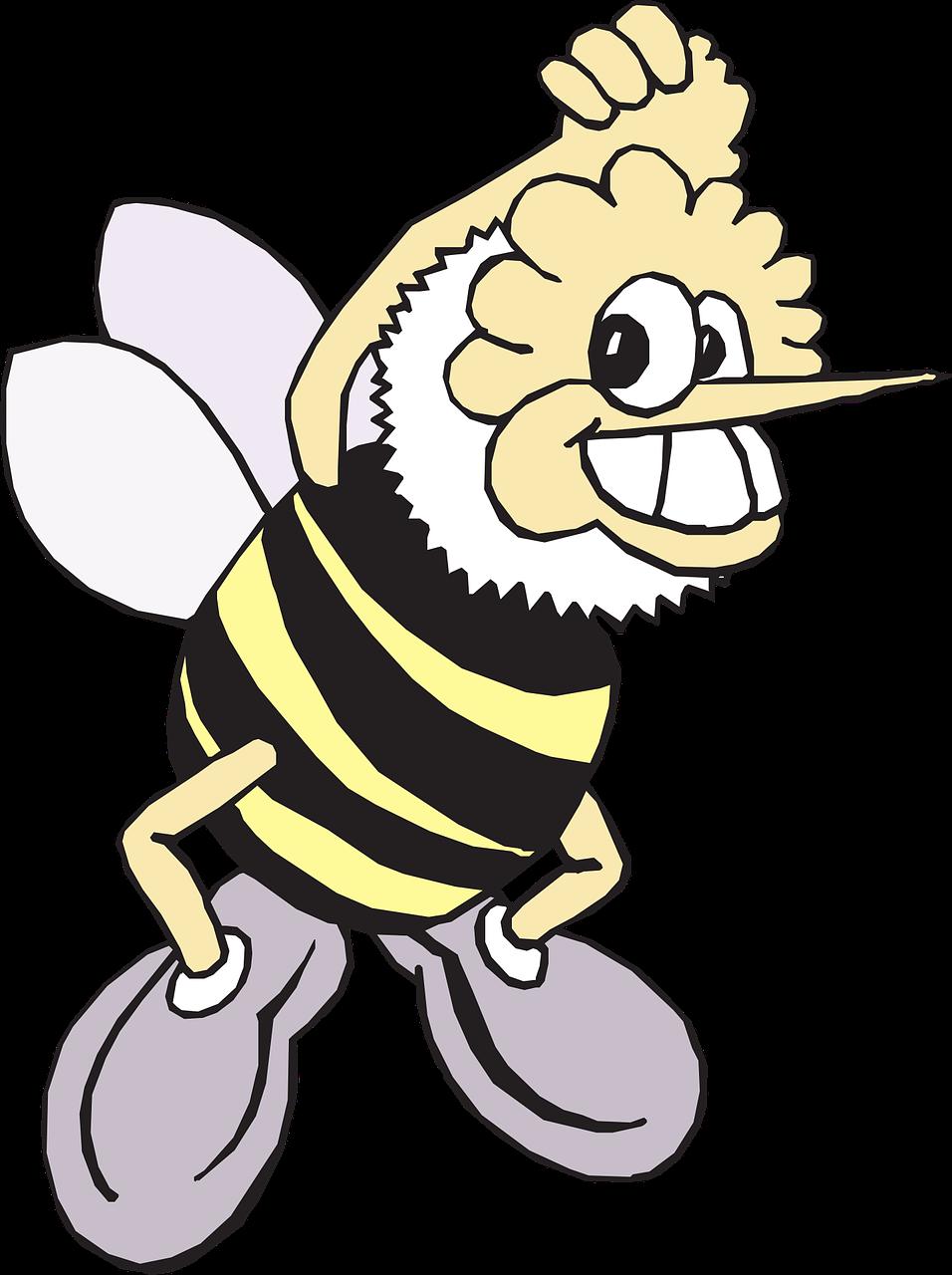 Анимация пчела картинки