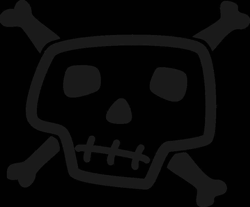 Skull Crossbones Pirate Free Vector Graphic On Pixabay