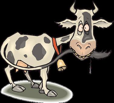 Vaca, Louco, Animal, Cauda, Babando