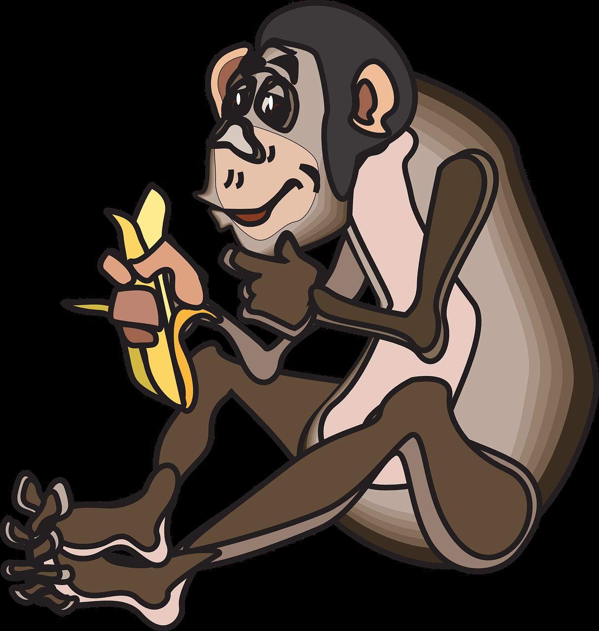 Анимация обезьяна картинки
