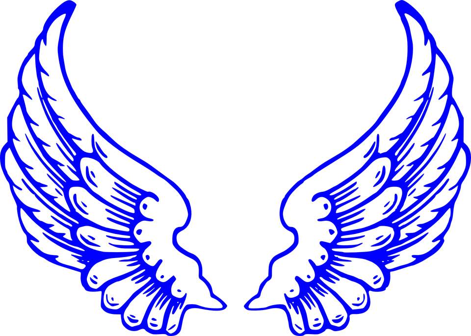 wings angel heaven free vector graphic on pixabay rh pixabay com wing vector art wind vector chart