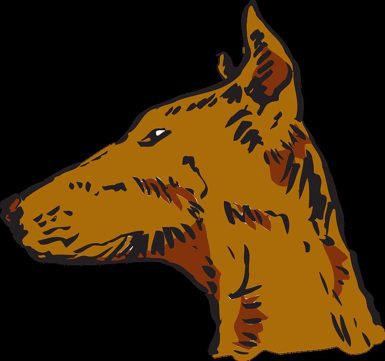 head view dog free vector graphic on pixabay rh pixabay com Free Horse Clip Art Cat Clip Art Free