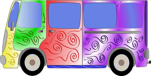 Free vector graphic: Hippy, Van, Bus, 60S, Sixties - Free Image on Pixabay - 45968
