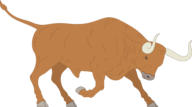 Free Vector Graphic Angry Charge Bull Horns Animal
