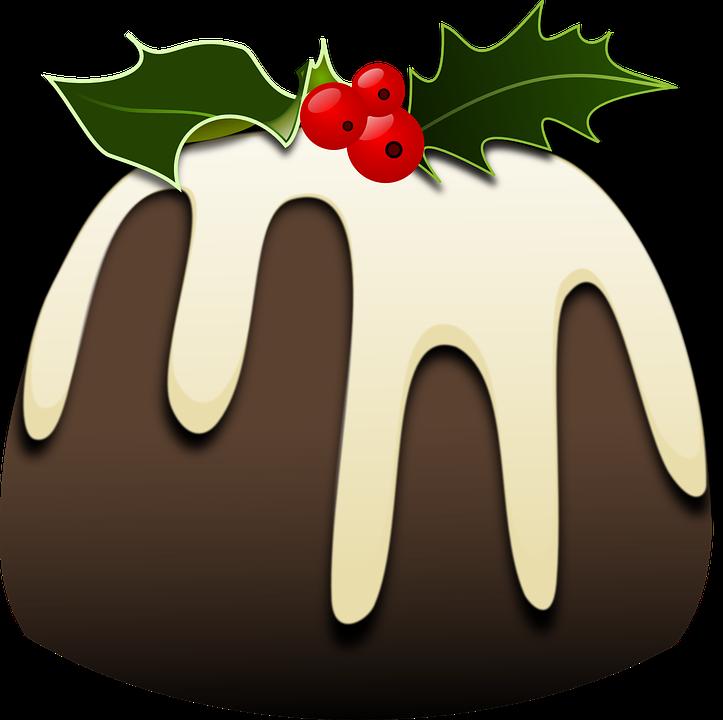 Free vector graphic: Christmas, Pudding, Xmas, Festive ...