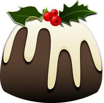Christmas Pudding Xmas Festive Holiday Swe