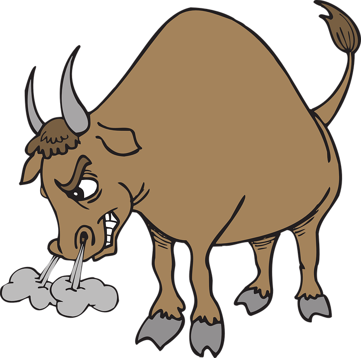 angry bull horns free vector graphic on pixabay rh pixabay com  red bull logo clipart