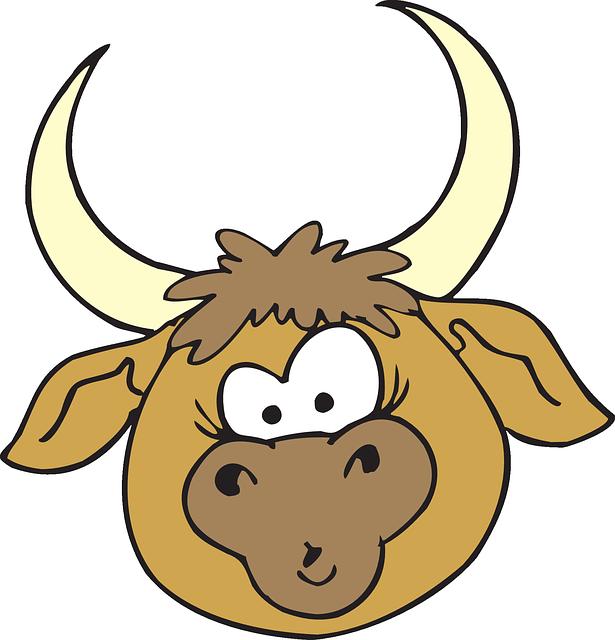 Head Bull Horns · Free vector graphic on Pixabay