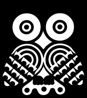 710+  Gambar Burung Hantu Kartun Hitam Putih HD Terbaik Free