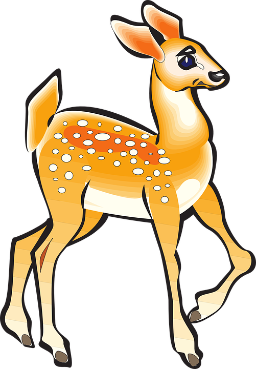 Fawn Animal Deer · Free vector graphic on Pixabay