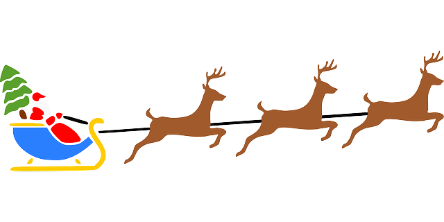 Santa Christmas Reindeer · Free Vector Graphic On Pixabay