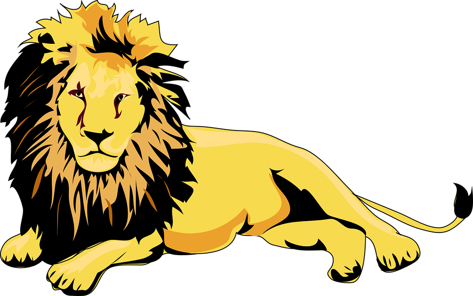 lion animal brown free vector graphic on pixabay rh pixabay com vector lion king vector lion clipart