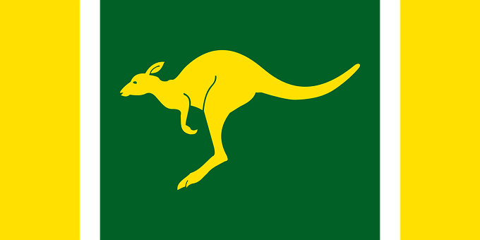Australian Flag Nation Country Symbol Patr
