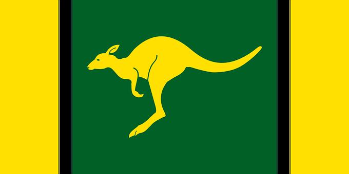 Australian Flag Nation Country Symbol Patr