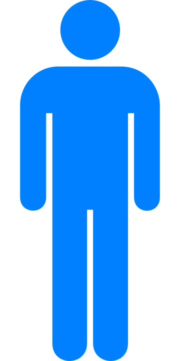 Man Toilet Male Bathroom Restroom Symbol Sign