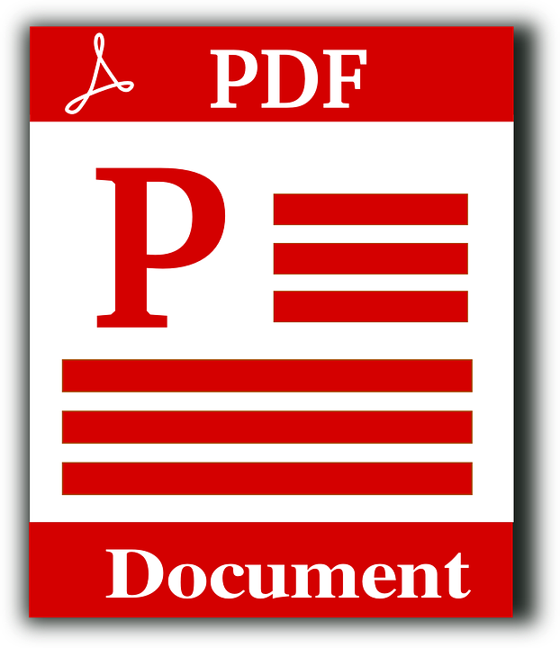 Pdf File Download Icon Document Text Symbol Web Format