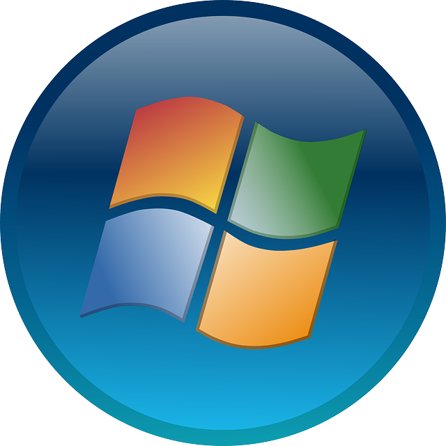 Windows 7 Logo Icon Free vector graphic: W...