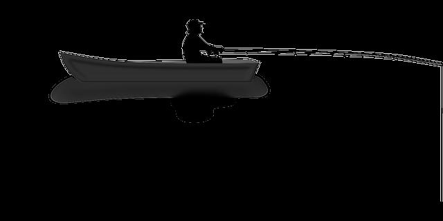 Wallpaper Fisherman Sunset Boat Hd Creative Graphics: Free Vector Graphic: Angler, Boat, Fishing, Water, Rod