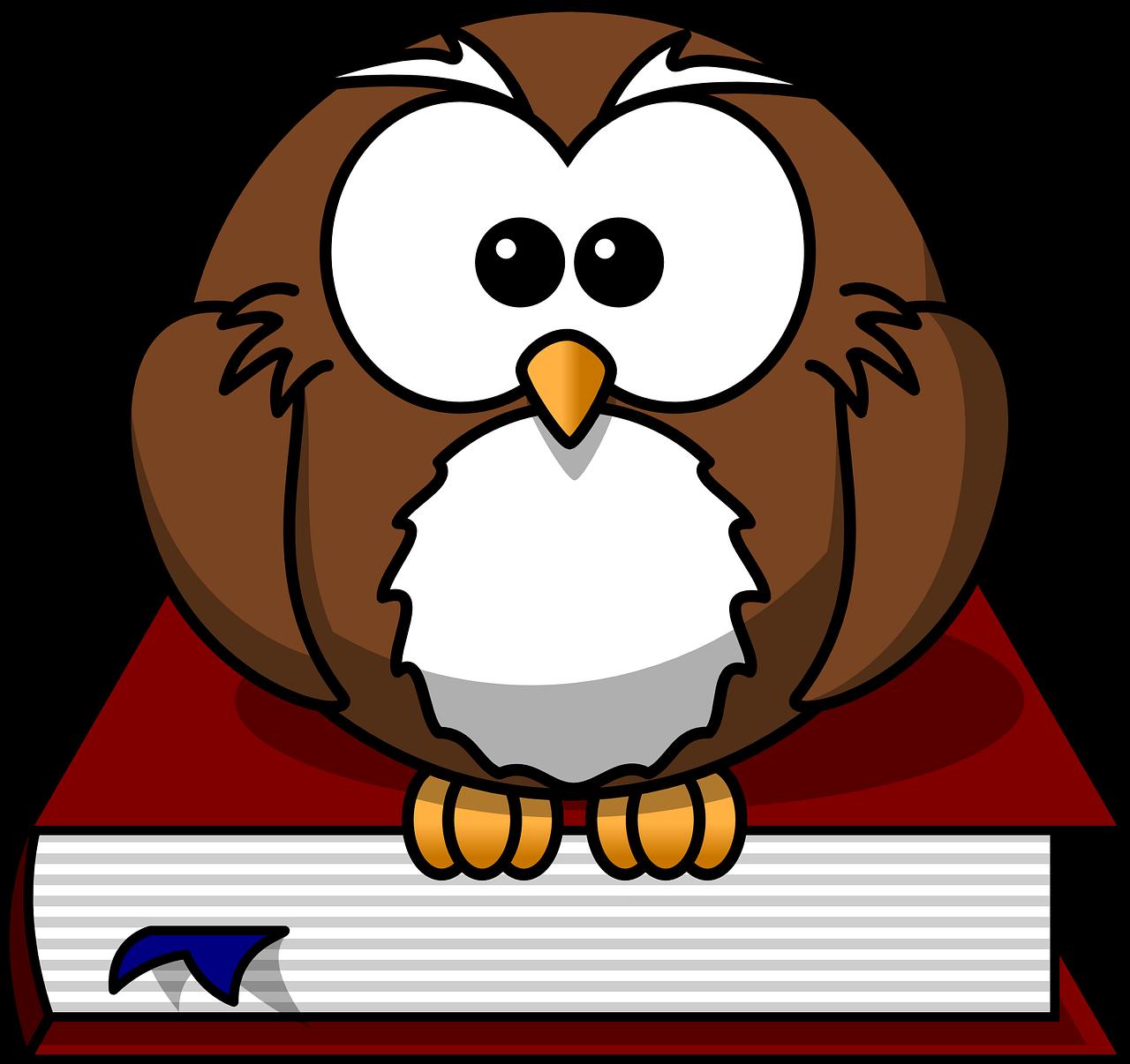 Sowa, Ptak, Książka, Wise, Natura, Znak, Dzikie