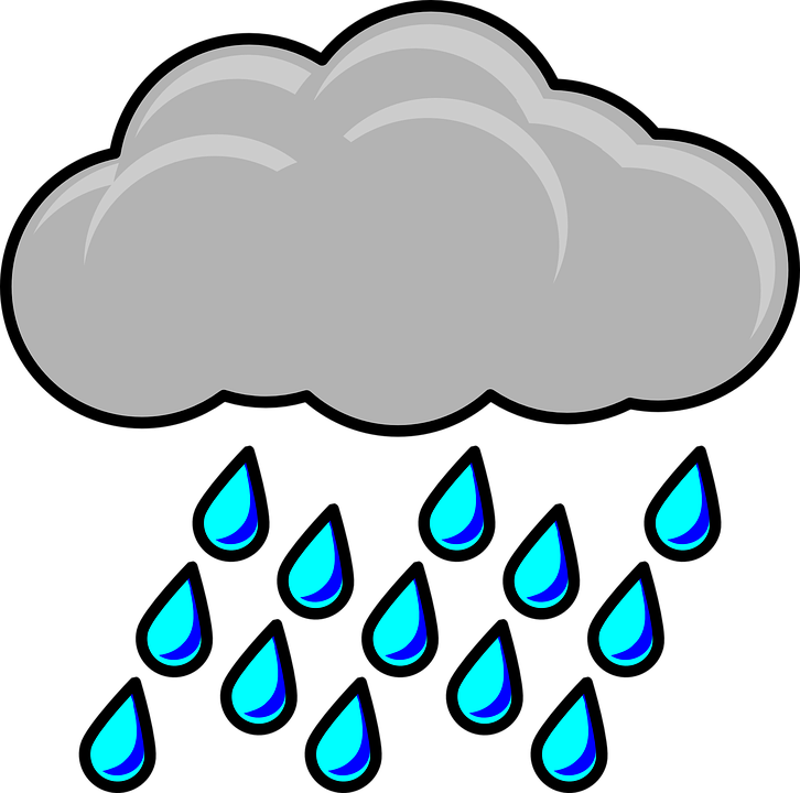Raincloud Storm Weather Free Vector Graphic On Pixabay