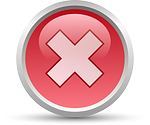 cancel, no, symbol